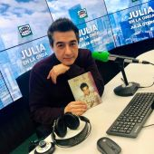 Juan Valderrama, en los estudios de Onda Cero
