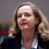 La ministra de Economía en funciones, Nadia Calviño