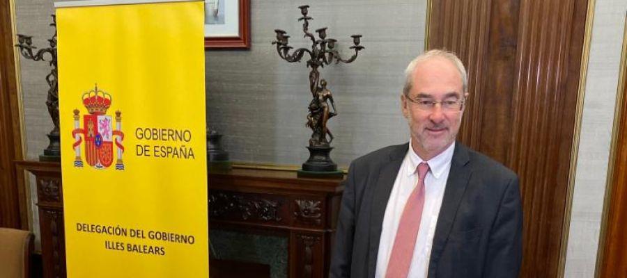 El delegado del Gobierno en funciones, Ramón Morey