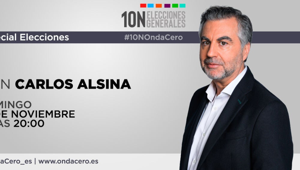 Especial Elecciones con Carlos Alsina