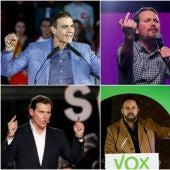 Imagen de los candidatos a la presidencia del Gobierno
