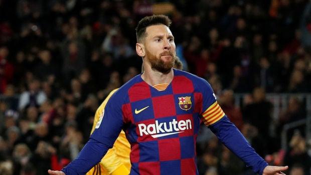 Messi ha marcado más goles de falta directa que los equipos de las cinco grandes ligas en las últimas ocho temporadas