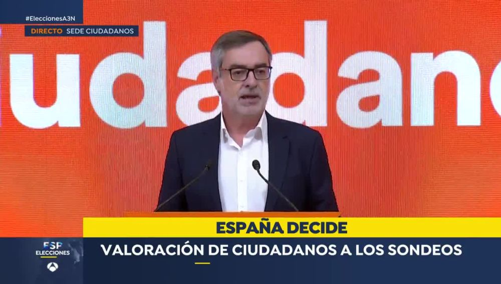 Villegas, diputado de Ciudadanos