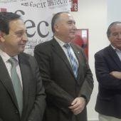 Pedro Barato, Carlos Marín y Ángel Nicolás han informado del absentismo laboral en Ciudad Real