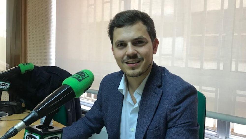El concejal de juventud y educación del consistorio palentino, Víctor Torres