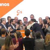 Lágrimas en Ciudadanos tras la dimisión de Ciudadanos