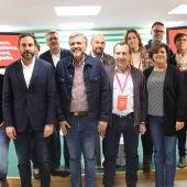 El PSOE de Málaga celebra la victoria electoral