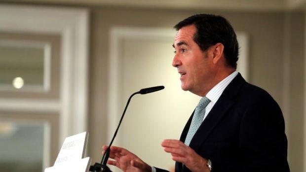 """Garamendi: """"Hay que tener cuidado con las medidas que se tomen por el coronavirus, pueden afectar más a nuestra economía"""""""