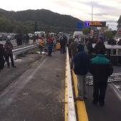 Tsunami Democràtic llama a bloquear la frontera con Francia desde La Jonquera