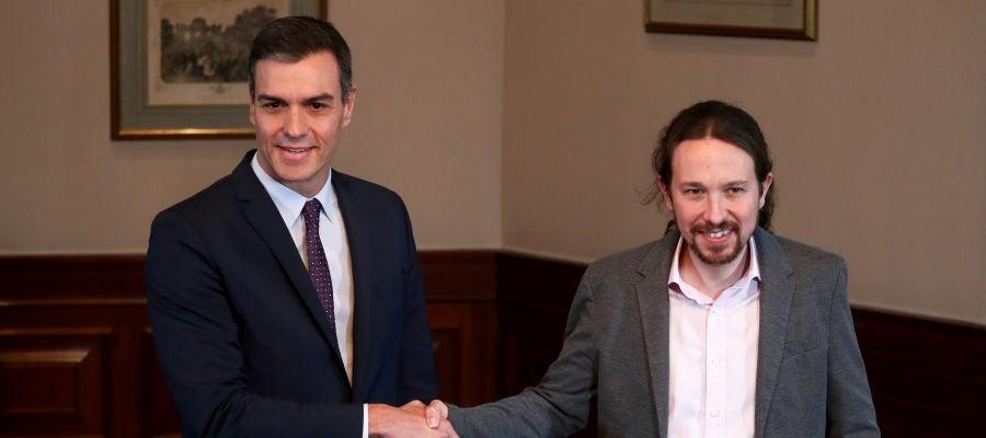 Pacto entre PSOE y Podemos