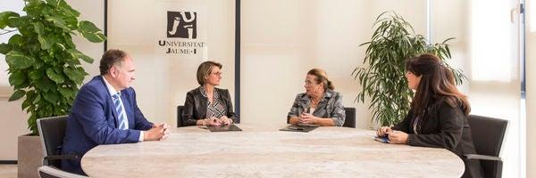 La UJI y la Cámara de Comercio firman un protocolo de colaboración para fortalecer las acciones conjuntas