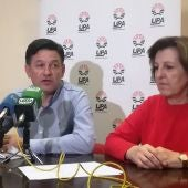 Julián Morcillo, durante la rueda de prensa que ha ofrecido en Ciudad Real