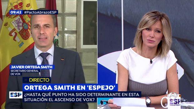 """Ortega Smith, sobre el acuerdo PSOE-Podemos: """"Es terrorífico, con lo peor de la política"""""""