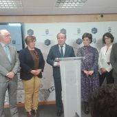 Ruiz Molina se ha reunido con Pilar Zamora y José Manuel Caballero