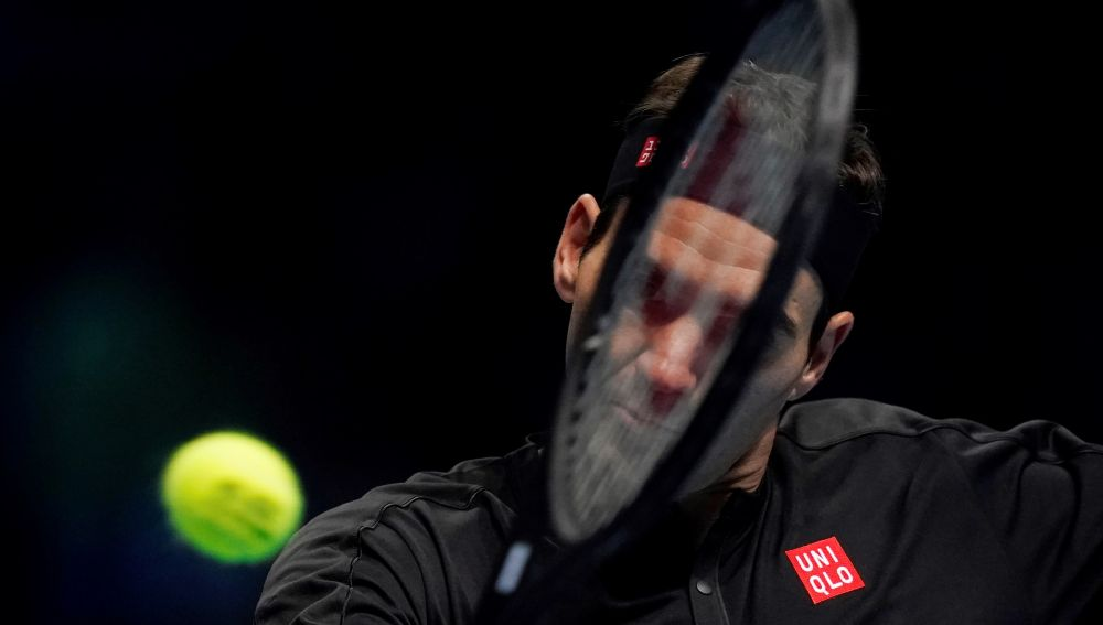 El tenista español, Roger Federer.