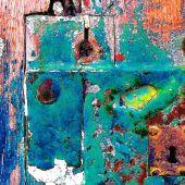 Fotografía de la exposición 'Las puertas del color'.