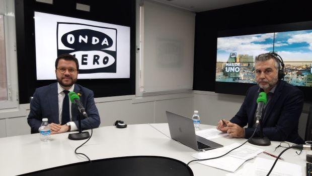 Pere Aragonès apunta a Pedralbes como punto de partida para un escenario de negociación con el PSOE
