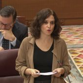 """Díaz Ayuso, presidenta de la Comunidad de Madrid: """"Dios no me hizo perfecta, por eso no soy de Vox"""""""