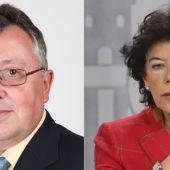 Pedro José Caballero e Isabel Celaá