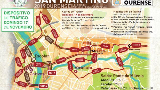 Cortes de Tráfico Ourense