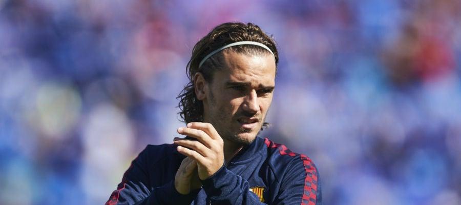 Antoine Griezmann, con el Barça