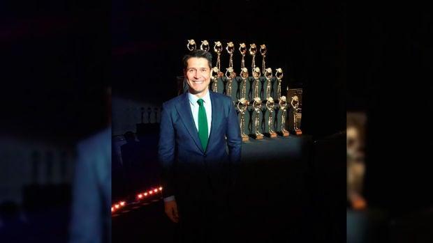 Jaime Cantizano recibe la Antena de Oro