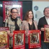 Presentación del cartel anunciador de la Navidad y cartel de la Feria del Belén