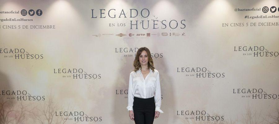 Marta Etura es la inspectora Amaia Salazar
