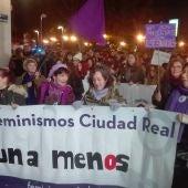 La manifestación recorrió el centro de Ciudad Real