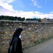 Una monja en una imagen de archivo
