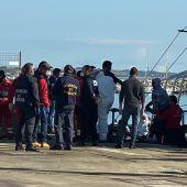 Aita Mari desembarco de inmigrantes