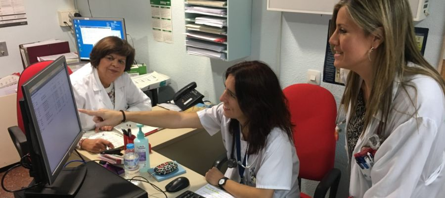 Investigadoras del Hospital de la Vega Baja que han participado en el estudio.