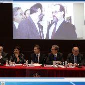 Actode homenaje a Alfredo Pérez Rubalcaba que se ha celebrado en el campus de Ciudad Real