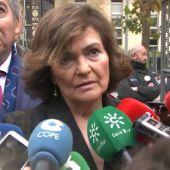 """Carmen Calvo: """"Estamos en un momento límite"""""""