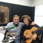 Emilio Aragón y Guitarrica de la Fuente en Julia en la Onda