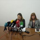 Amparo Cerdá y Aurora Rodil, concejalas de Vox Elche.