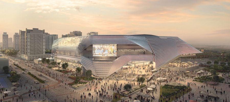 Figuración del futuro Arena València