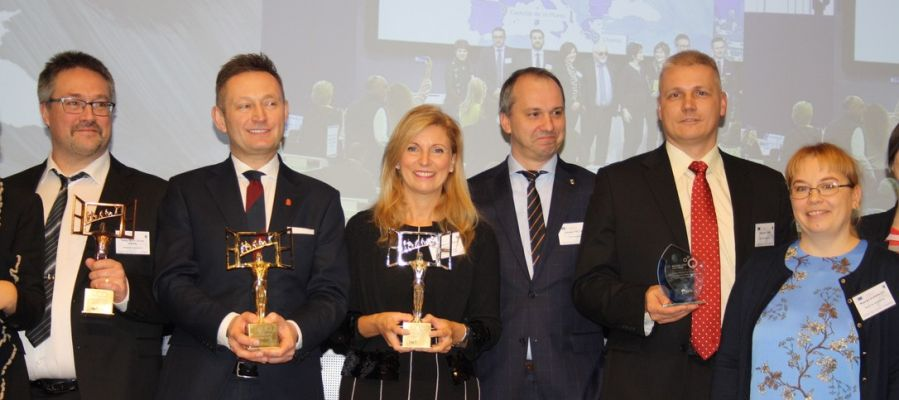 Castelló recibe el segundo premio del Acces City Award.