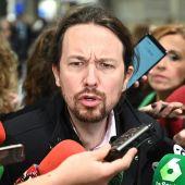 Pablo Iglesias responde a los medios de comunicación