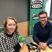 Antoni Noguera, recientemente elegido coordinador general de Més per Mallorca, en una entrevista en Onda Cero Mallorca.