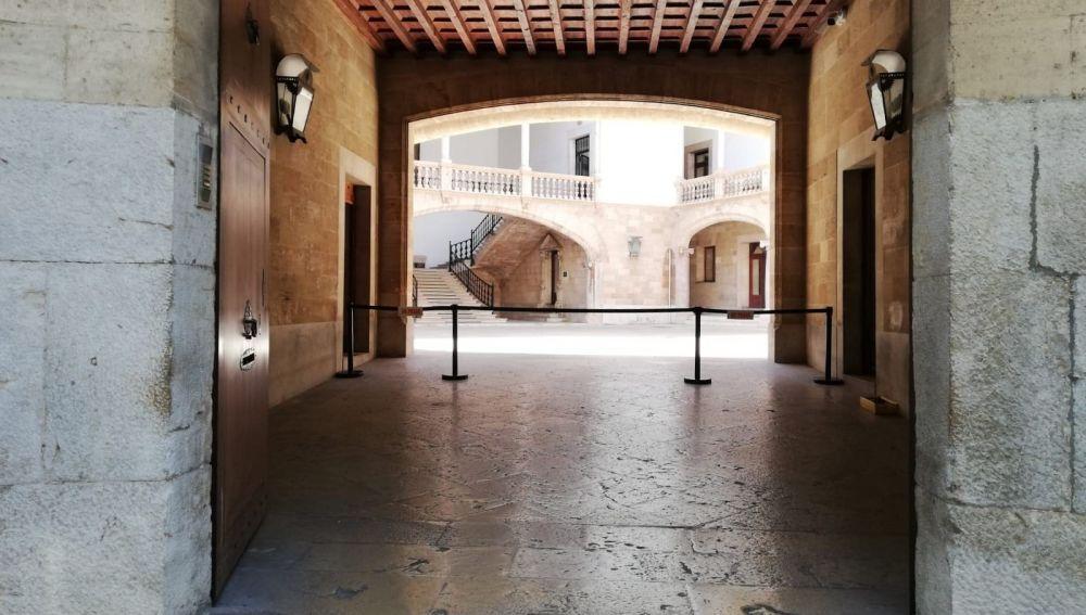 Entrada de la Audiencia Provincial de Baleares