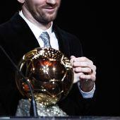Leo Messi, Balón de Oro.