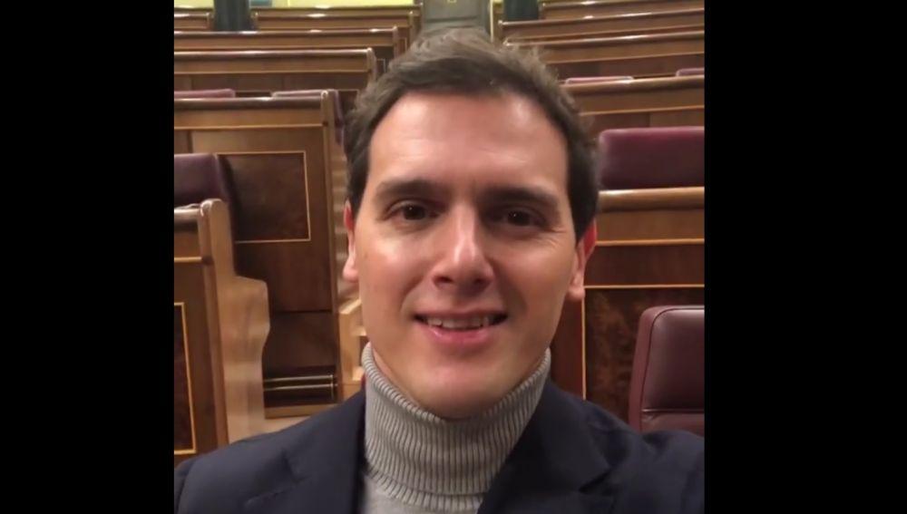 Albert Rivera se despide del Congreso