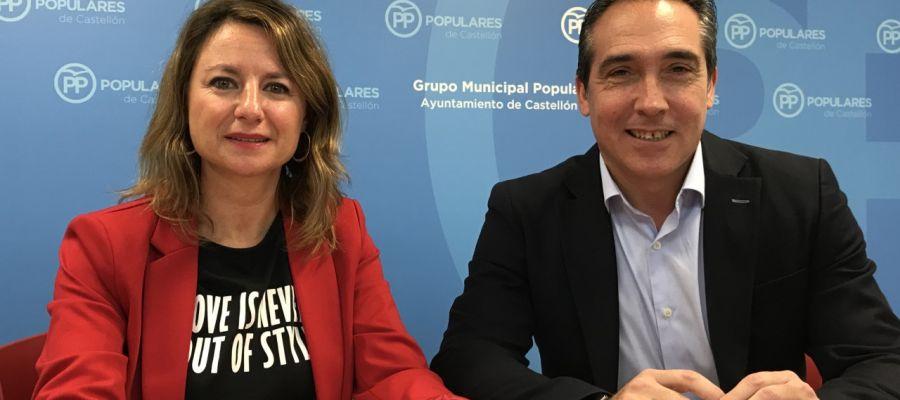 Begoña Carrasco y Rubén Ibáñez.