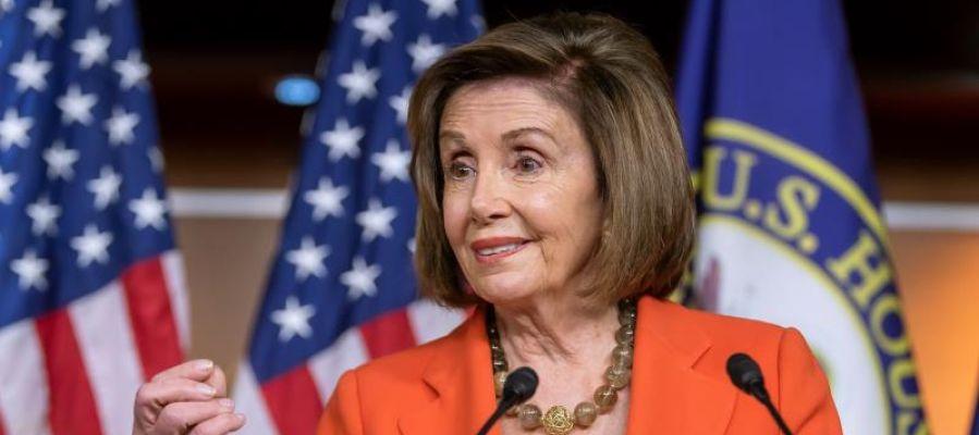 La presidenta del Congreso, la demócrata Nancy Pelosi