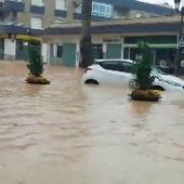 Vídeo de las inundaciones en Los Alcázares que han obligado a la evacuación de los vecinos