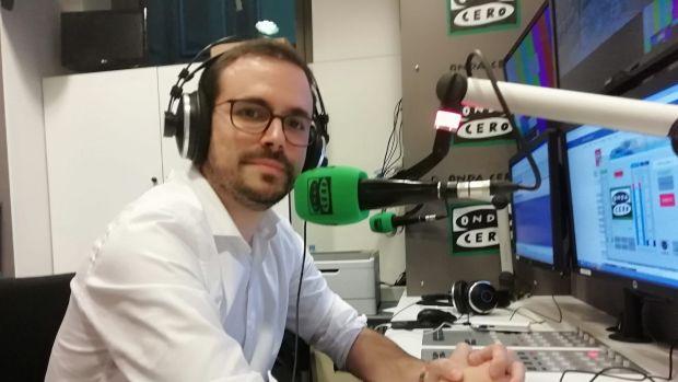 """Alberto Garzón y el independentismo: """"Hay sectores de la izquierda que se han dejado seducir por un proyecto quimérico que les prometía solucionar los problemas"""""""