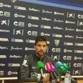 Adrián González, jugador del MálagaCF