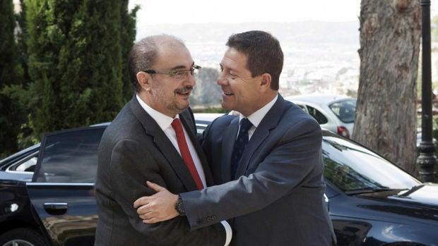 Iceta, Page y Lambán ponen de manifiesto la tensión interna en el PSOE por la negociación con ERC