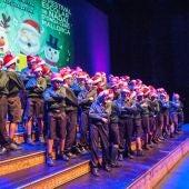 Alumnos del colegio Aixa-Llaüt participan en la tercera edición del Festival escolar de Nadal de Onda Cero Mallorca